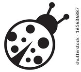 Cute Icon Of Isolated Ladybird...