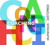 coaching   vector abstract...   Shutterstock .eps vector #165729803