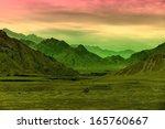 gobi desert | Shutterstock . vector #165760667