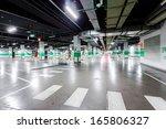 empty underground parking   Shutterstock . vector #165806327