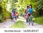 multi generation african... | Shutterstock . vector #165818537