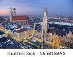 Munich  Germany. Aerial Image...