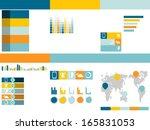flat ui infographic yellow
