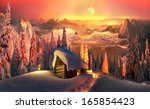 roerich and the himalayas to... | Shutterstock . vector #165854423