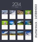 Photo Calendar For 2014   Flat...