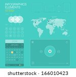 ui flat design web elements ...