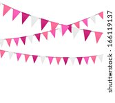 party background  illustration | Shutterstock . vector #166119137