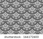 lace   doily background ... | Shutterstock .eps vector #166172603