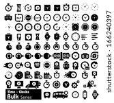 time adn clocks icons   bulk...