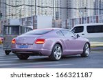 Постер, плакат: BEIJING NOV 28 Bentley Continental