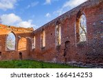 Gothic Ruins Of The Church ...
