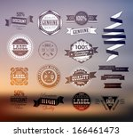premium and high quality... | Shutterstock .eps vector #166461473