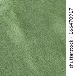 green crumpled leather texture | Shutterstock . vector #166470917