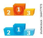 podium | Shutterstock .eps vector #166477973