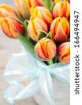 Bouquet Of Orange Tulips ...