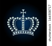 Diamond Crown Decorated With...