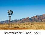Windmill In The Flinders Range...