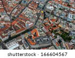 old town square from top | Shutterstock . vector #166604567