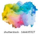 watercolour abstract background | Shutterstock . vector #166635527
