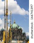 berlin tv tower in between a...
