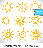 Vector Set Of Different Suns...