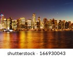 coal harbor in vancouver at... | Shutterstock . vector #166930043