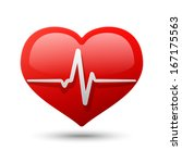 heart icon. raster version | Shutterstock . vector #167175563