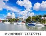 Port Of Bridgetown In Barbados