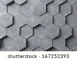abstract hexagonal background | Shutterstock . vector #167252393
