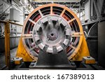 an electric power generator ... | Shutterstock . vector #167389013