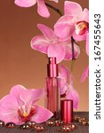 women's perfume in beautiful... | Shutterstock . vector #167455643