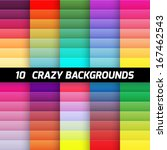 crazy color gradient background ... | Shutterstock .eps vector #167462543