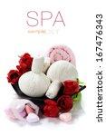 bath and spa valentine theme... | Shutterstock . vector #167476343
