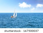 sailing the  sea  | Shutterstock . vector #167500037