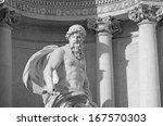 neptune statue of trevi... | Shutterstock . vector #167570303