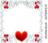 vector background with... | Shutterstock .eps vector #167604113