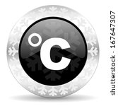 celsius christmas icon   Shutterstock . vector #167647307