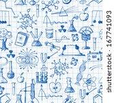 back to school pen sketch... | Shutterstock . vector #167741093