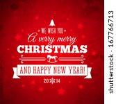 christmas texture vector... | Shutterstock .eps vector #167766713