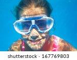 close up underwater portrait of ...   Shutterstock . vector #167769803