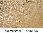 Maritime Pebble On The Beach