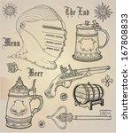 historical design elements   Shutterstock .eps vector #167808833