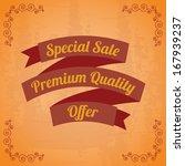shopping  design over vintage ... | Shutterstock .eps vector #167939237