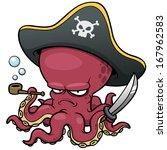 Evil Octopus Cartoon