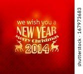 christmas shine badge  banners  ... | Shutterstock .eps vector #167973683