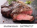 steak   Shutterstock . vector #167996717