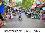 ho chi minh city  vietnam   nov ... | Shutterstock . vector #168022397