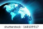 world news concept | Shutterstock . vector #168109517