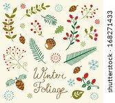 An Elegant Winter Foliage Set