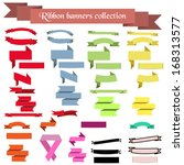 collection of ribbons and...